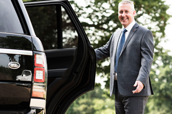 David Copeland – A real chauffeur – friendly and approachable, but also professional.